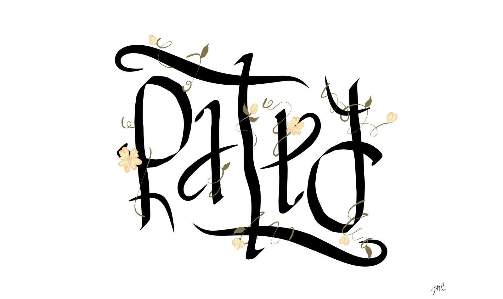 Logo Large Patty